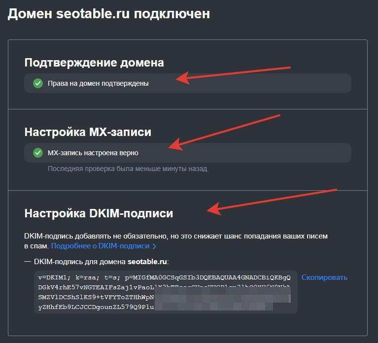 Загадочные буквы MX, SPF, DKIM для EMAIL