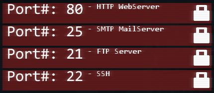 Порты вебсервера и их основная защита